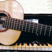 Συλλογές για πιάνο - αρμόνιο - κιθάρα