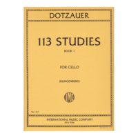 dotzauer-113-studies-for-cello-solos-book-1