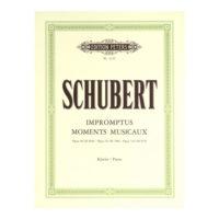 schubert-impromptus-moments-op-90-94-142-piano-peters