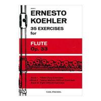 ernesto-koehler-35-exercises-for-flute-op-33-book-II-carl-fischer