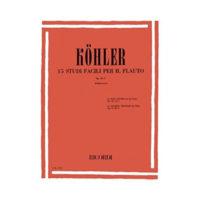 kohler-15-studi-facili-per-il-flauto-op-33-I-fabriciani-ricordi-editions